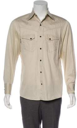 Tom Ford Woven Western Shirt