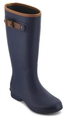 Chooka City Matte Rubber Tall Rain Boots