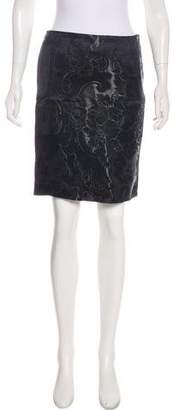 Gucci Floral Print Knee-Length Skirt w/ Tags