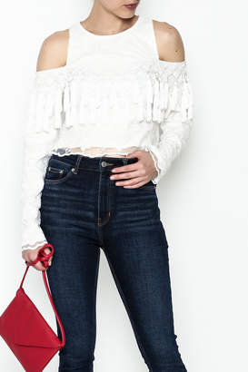 Gracia Lace Crop Top