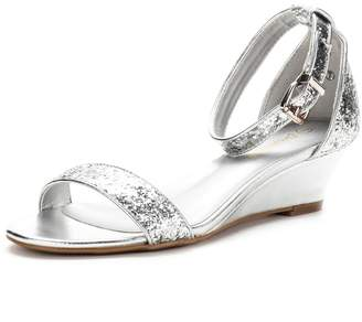 6331aa389 DREAM PAIRS Women s Ingrid Ankle Strap Low Wedge Sandals