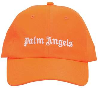 Palm Angels Embroidered Canvas Baseball Hat
