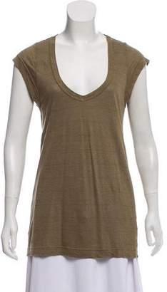 Etoile Isabel Marant Sleeveless Linen Top
