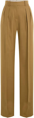 Max Mara Wide Leg Virgin Wool Pants