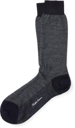 Ralph Lauren Herringbone Trouser Socks