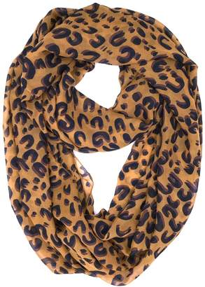 Tapp Collections Tapp C. Fashion Leopard Print Infinity Scarf - Section Print