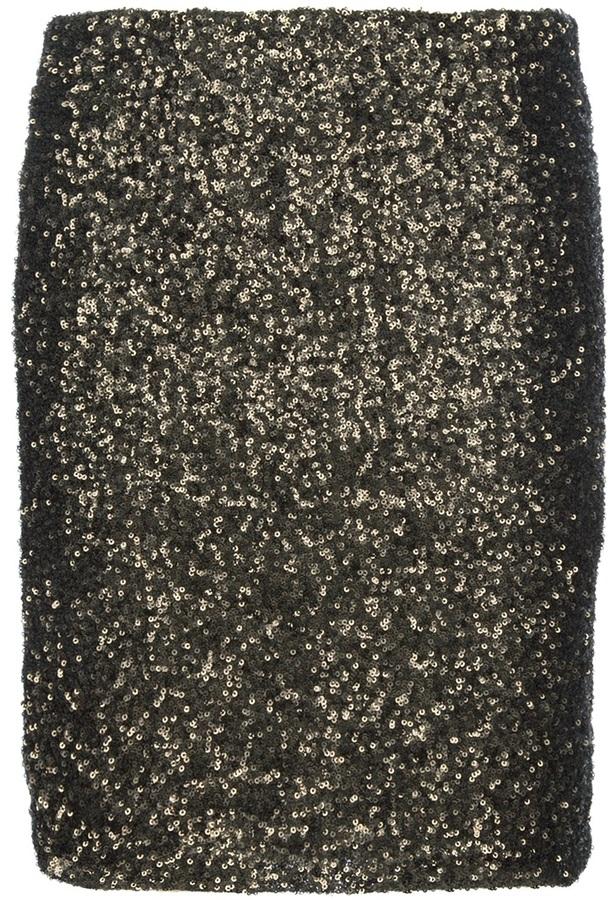 Gestuz Sequin embellished skirt