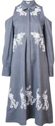 Suno cut-out shirt dress