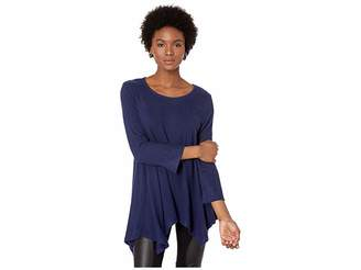 Bobeau Fit and Flare Brushed Tunic Women's Vest