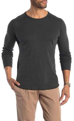 WINGS AND HORNS Long Sleeve Crew Neck Shirt