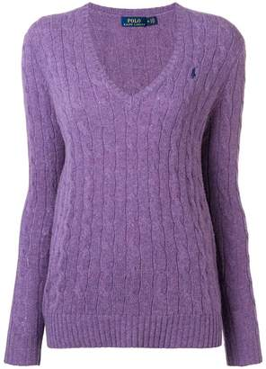 Polo Ralph Lauren (ポロ ラルフ ローレン) - Polo Ralph Lauren cable knit sweater