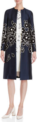 Carolina Herrera Floral Coat