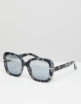 Black Phoenix Oversized Sunglasses