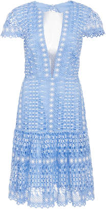 Temperley London Bamboo Lace Crochet Dress
