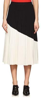 Derek Lam 10 Crosby Women's Colorblocked Pleated Skirt