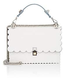 Fendi Women's Kan I Leather Shoulder Bag - White