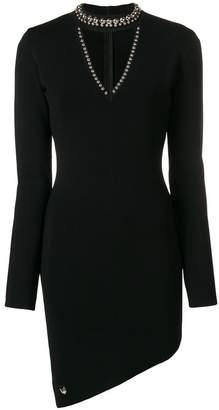 Philipp Plein studded asymmetric dress
