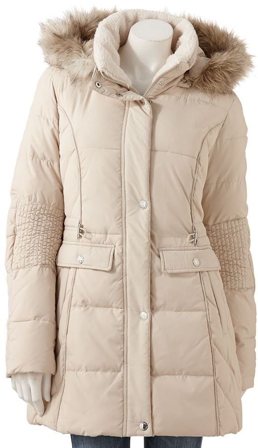 Generation nxt hooded puffer jacket