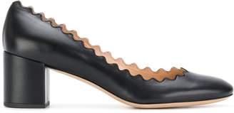 Chloé Lauren mid-heel pumps