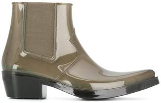 Calvin Klein heeled ankle boots