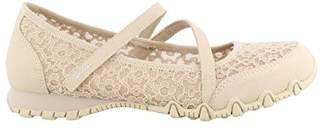Skechers Women's Bikers-Provocative-Mary-Jane with Laced Upper Detail