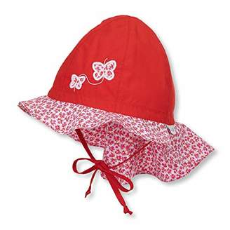 Sterntaler Baby Girls  Sun Hat with Neck Protection Sunhat e62d1d7cfc8f