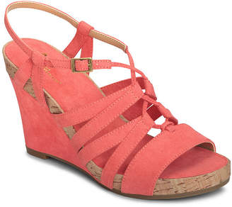 Aerosoles A2 BY A2 by Poppy Plush Womens Wedge Sandals