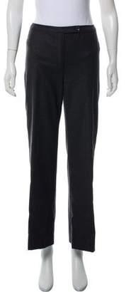 Valentino Cashmere Mid-Rise Pants