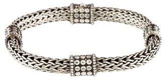 John Hardy Classic Chain Dot Bracelet $595 thestylecure.com