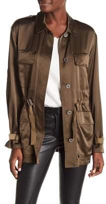 Theory Thornwood Vintage Silk Jacket