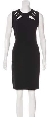 Diane von Furstenberg Cutout-Accented Mini Dress