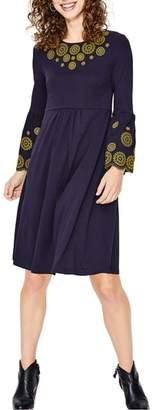 Boden Emilia Embroidered Dress