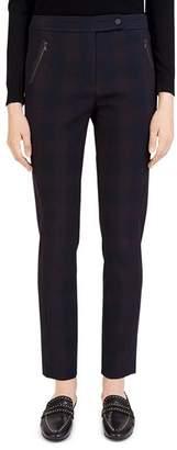 Gerard Darel Gloriana Zip-Pocket Pants