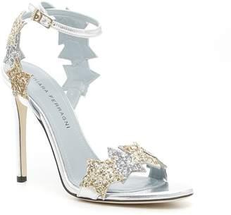 Chiara Ferragni Glitter Sandals