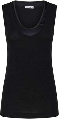 Brunello Cucinelli Embellished Tank Top