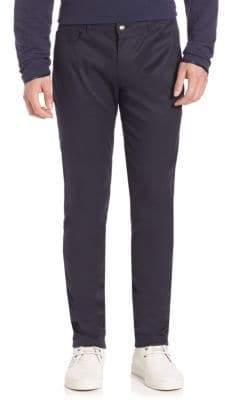 Ovadia & Sons Five-Pocket Cotton-Blend Stretch Pants