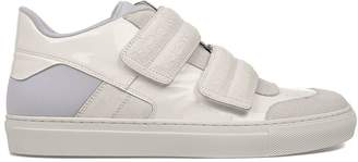 MM6 MAISON MARGIELA White Patent Leather Sneakers
