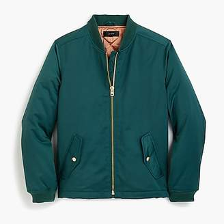 J.Crew Bomber jacket with side zips