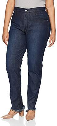 James Jeans Women's Plus Size High Rise Skinny Jean