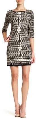 Max Studio Printed Matte Jersey Dress (Petite) $98 thestylecure.com