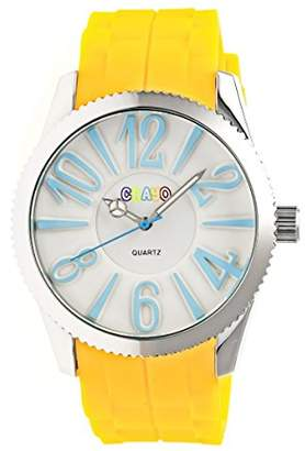 Crayo Women 'Magnificent' Precise Professional Quartz Movement Metal and Silicone Strap Watch(Model: BOUBM3101)