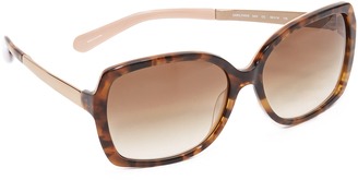 Kate Spade New York Darilynn Sunglasses $155 thestylecure.com