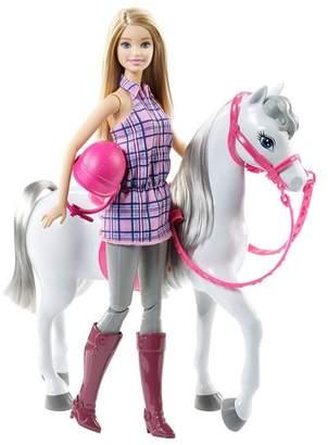 Mattel Inc. Barbie Doll & Horse Set