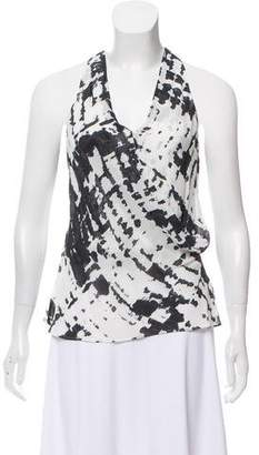 Nicole Miller Printed Sleeveless top