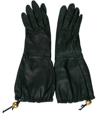 Hermes Clou de Selle Long Gloves