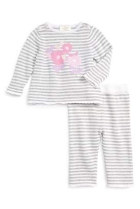 Kate Spade Intarsia Sweater & Legging Set (Baby Girls)