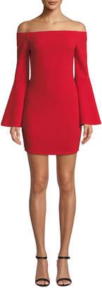 BCBGeneration Off-the-Shoulder Bodycon Dress