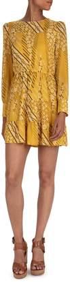 BA&SH Ophe Belted Mini Dress