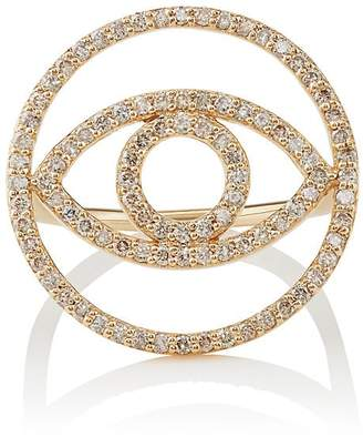 Ileana Makri Women's Evil Eye White Diamond Ring
