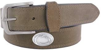 NCAA Kohl's Men's Zep-Pro Penn State Nittany Lions Concho Crazy Horse Leather Belt